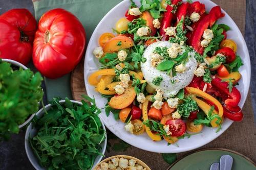 Dienst healthy food