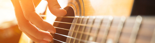 Dienst gitaarles
